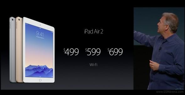 iPad Air 2 fiyatlar