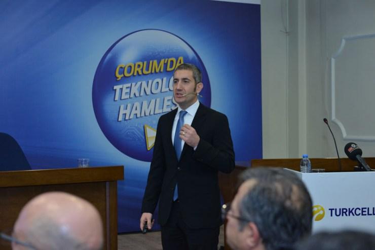 Turkcell Kurumsal Satış Direktörü Çağatay Aynur