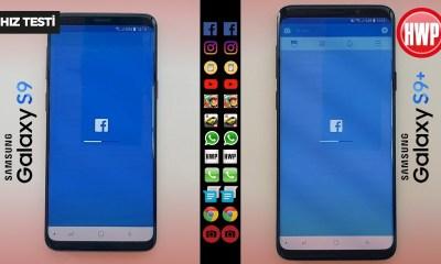 Hız Testi | Samsung Galaxy S9 - Samsung Galaxy S9+