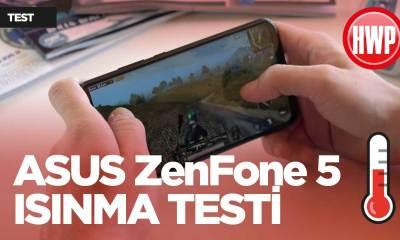 ASUS ZenFone 5 ısınma testi