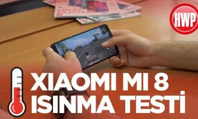 Xiaomi Mi 8 ısınma testi