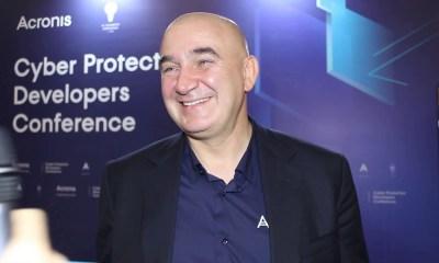 Acronis CEO'su Serguei Beloussov röportajı | Blockchain ile siber güvenlik