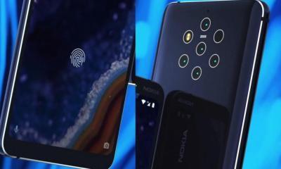 Nokia 9 PureView parmak izi
