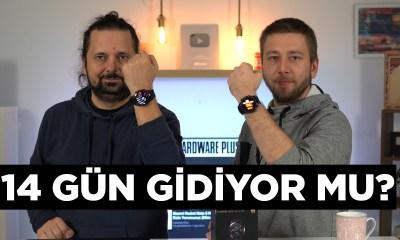 Huawei Watch GT2 pil testi