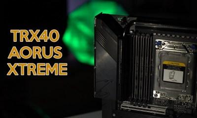 TRX40 AORUS Xtreme | Sanat eseri gibi anakart!