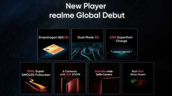 Realme X50 Pro 5G, 32MP selfi kamerası ile geliyor!