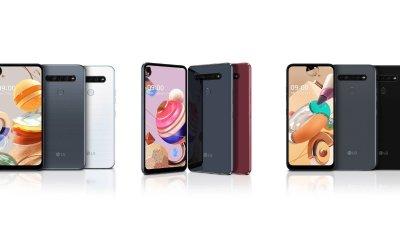 LG K serisi için 3 yeni telefon!