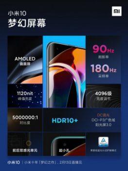 Xiaomi Mi 10 teknik özellikleri