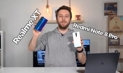 Realme XT vs Redmi Note 8 Pro karşılaştırma