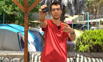 Plajda kullanılabilen kablosuz mikrofon kiti | Saramonic Blink 500 B2