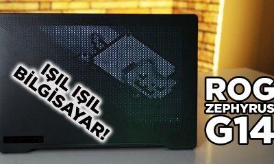 IŞIL IŞIL BİLGİSAYAR! | ASUS ROG Zephyrus G14 | LED kapaklı versiyonunu da inceledik!