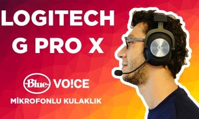 BLUE MİKROFONLU EFSANE KULAKLIK   Logitech G Pro X incelemesi