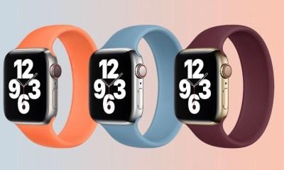 Apple Watch kayışlarına