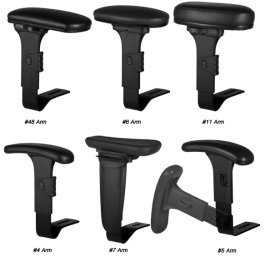 Office Chair Adjustable Arms Image
