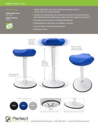 Tago Chair Flyer Harris WorkSystems 2