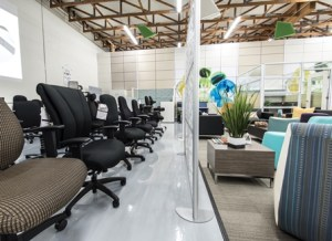 Office Furniture Showroom in Tigard, Oregon - Image of Chairs