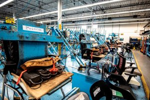 Office Chair Durability Testing Image - Office Furniture by Harris WorkSystems