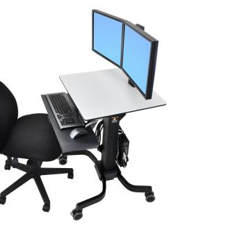 Workfit C Sti Stand Mobile Workstation by Harris WorkSystems 24 214 085 2
