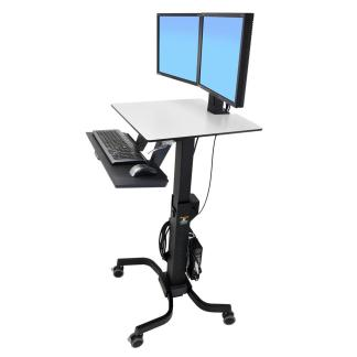 Workfit C Sti Stand Mobile Workstation by Harris WorkSystems 24 214 085