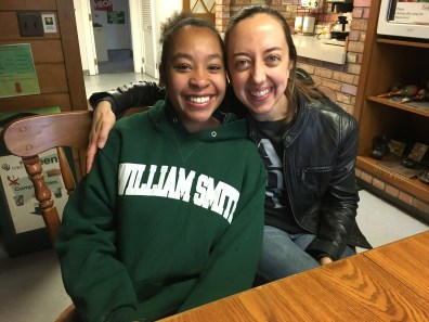 Tamira Jackson-Lofton WS'19 & Professor Woodworth