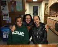 Tamira Jackson-Lofton WS'19, Professor Molina & Professor Woodworth