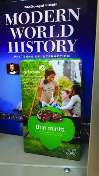 Girl Scout Cookies inside locker cmyk