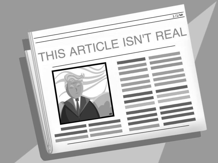 Spectrum Fake News Art