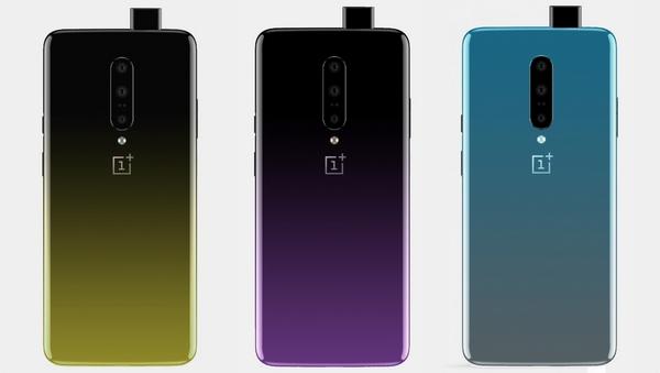 OnePlus 7 colorazioni