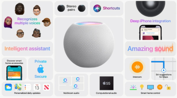 homepod mini apple feature