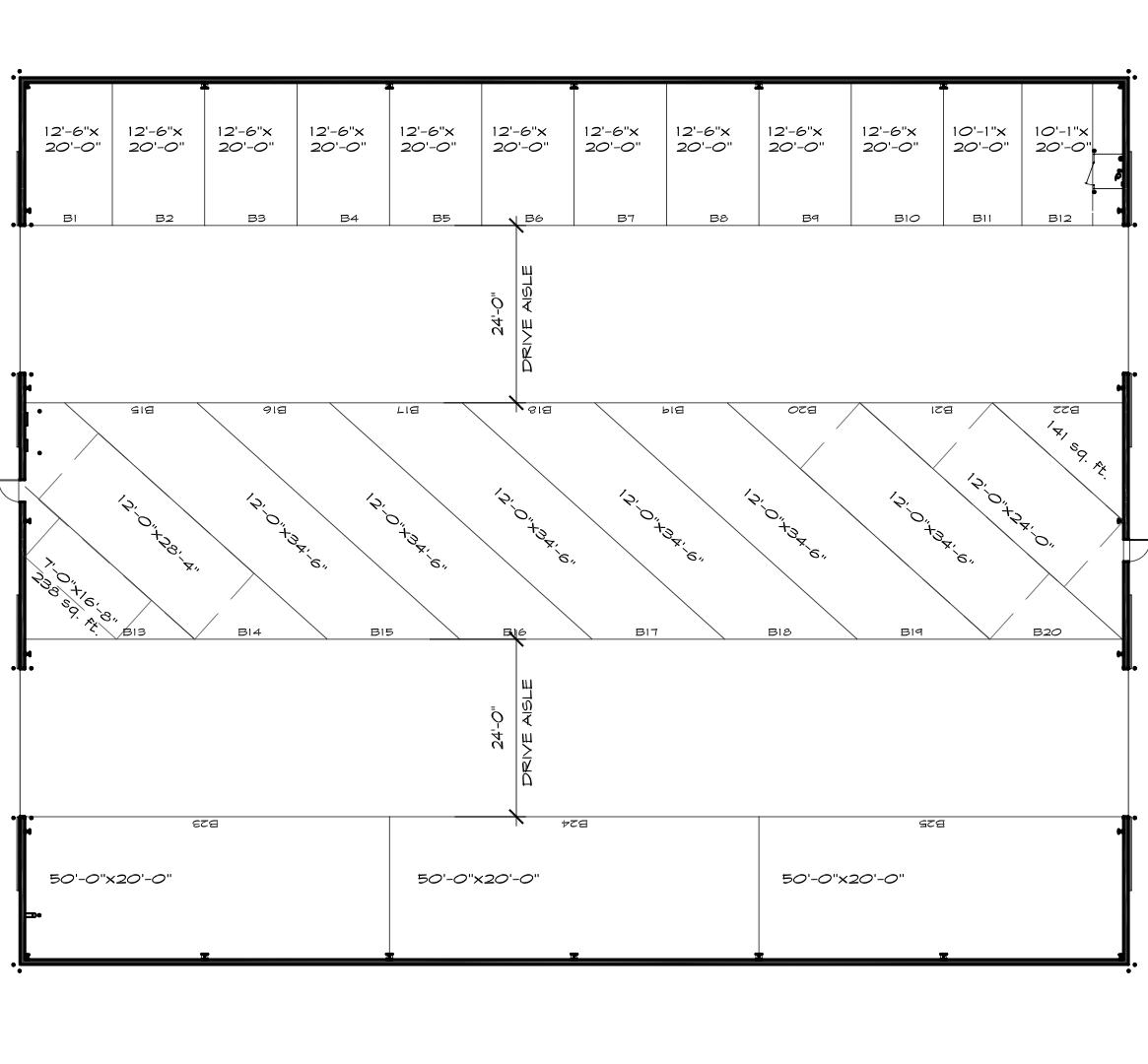 rv storage building plans