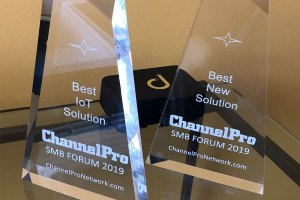 "Domotz ""Best IoT Solution"""