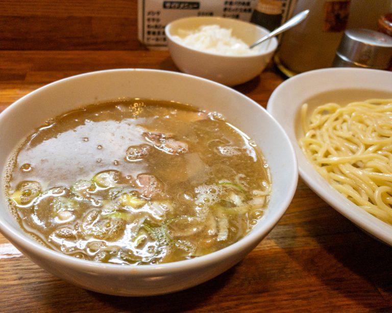 肉入りつけ麺