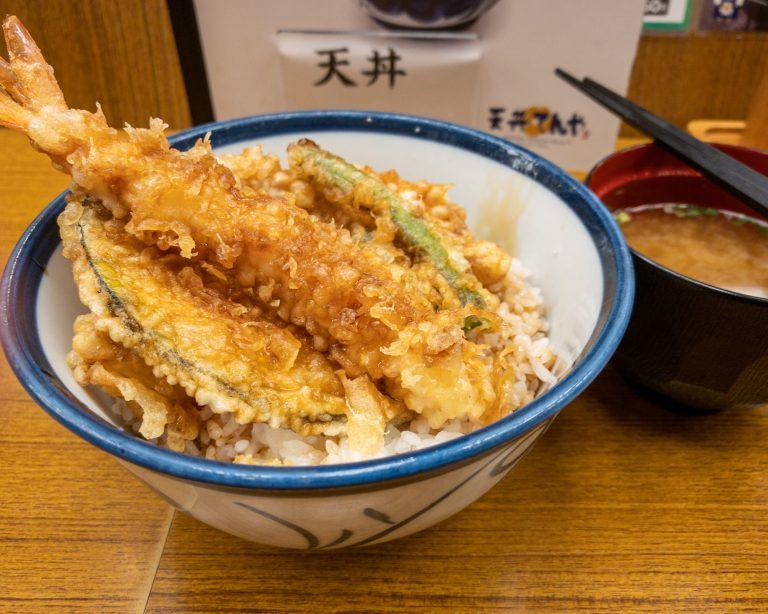 500円天丼