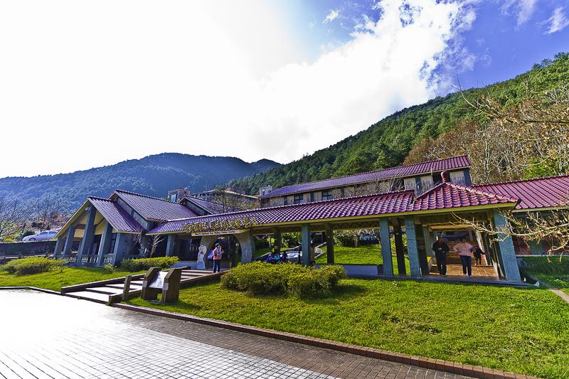 武陵農場遊客中心~