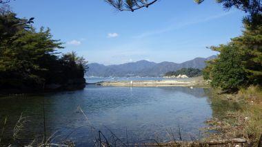 江ノ浦の汽水湖