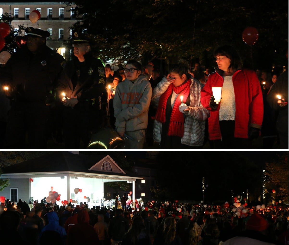 Vigil In Honor Of 5 Young Men Tragically Killed This Past