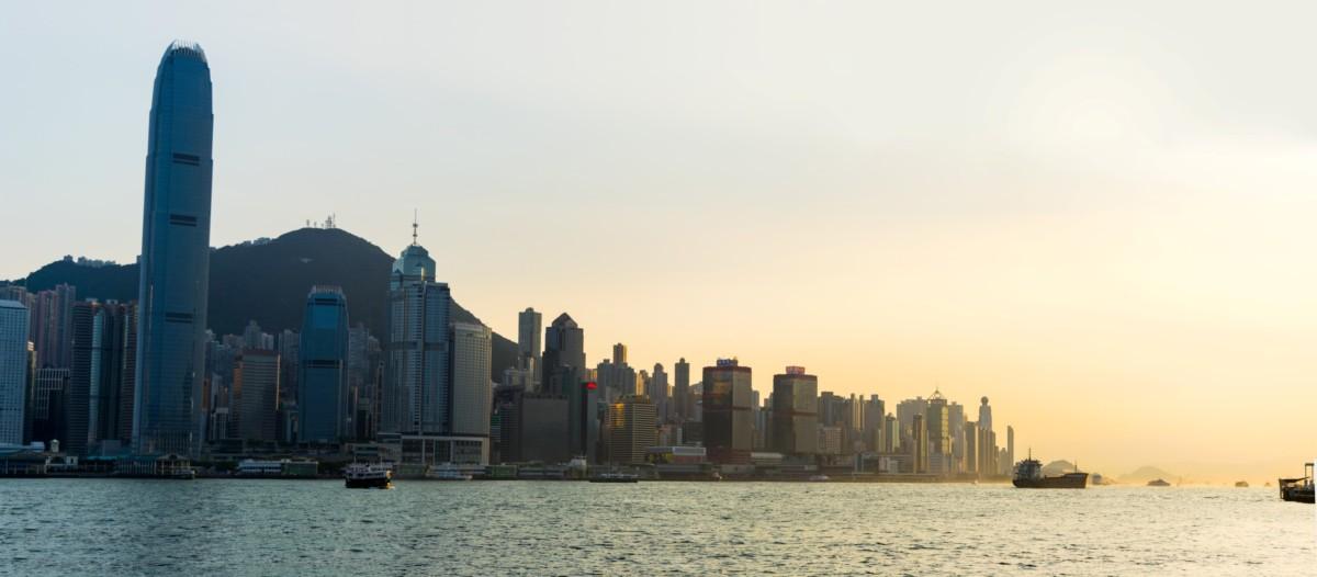 Západ slnka z prístavu