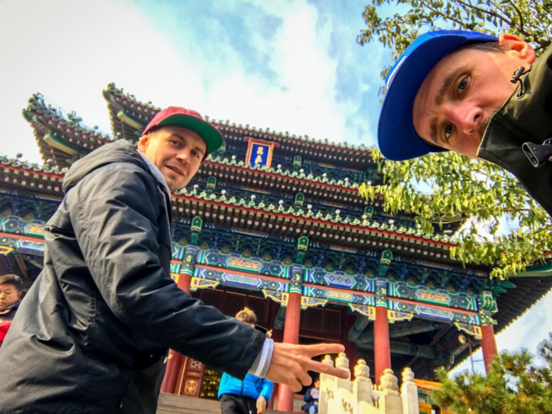 Chlapi z LM v Pekingu