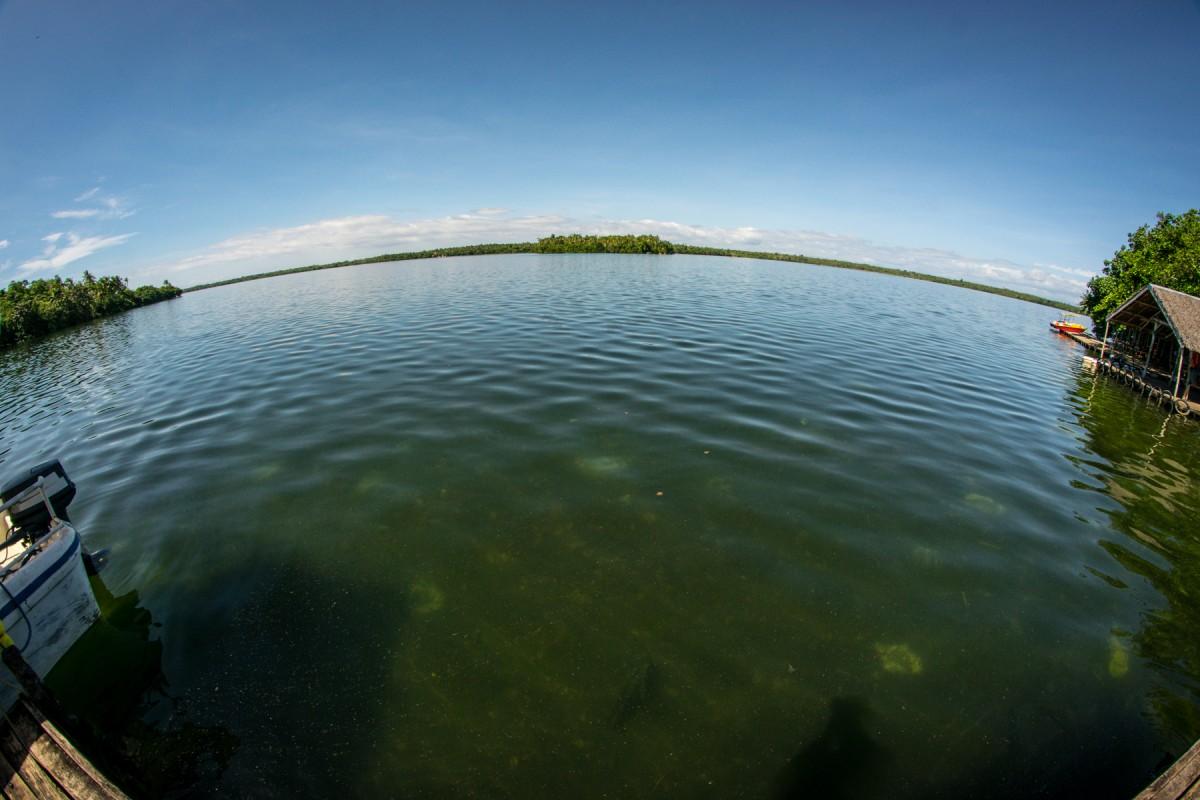 Jazero Danao, Camotes