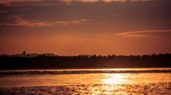 Siargao - západ slnka