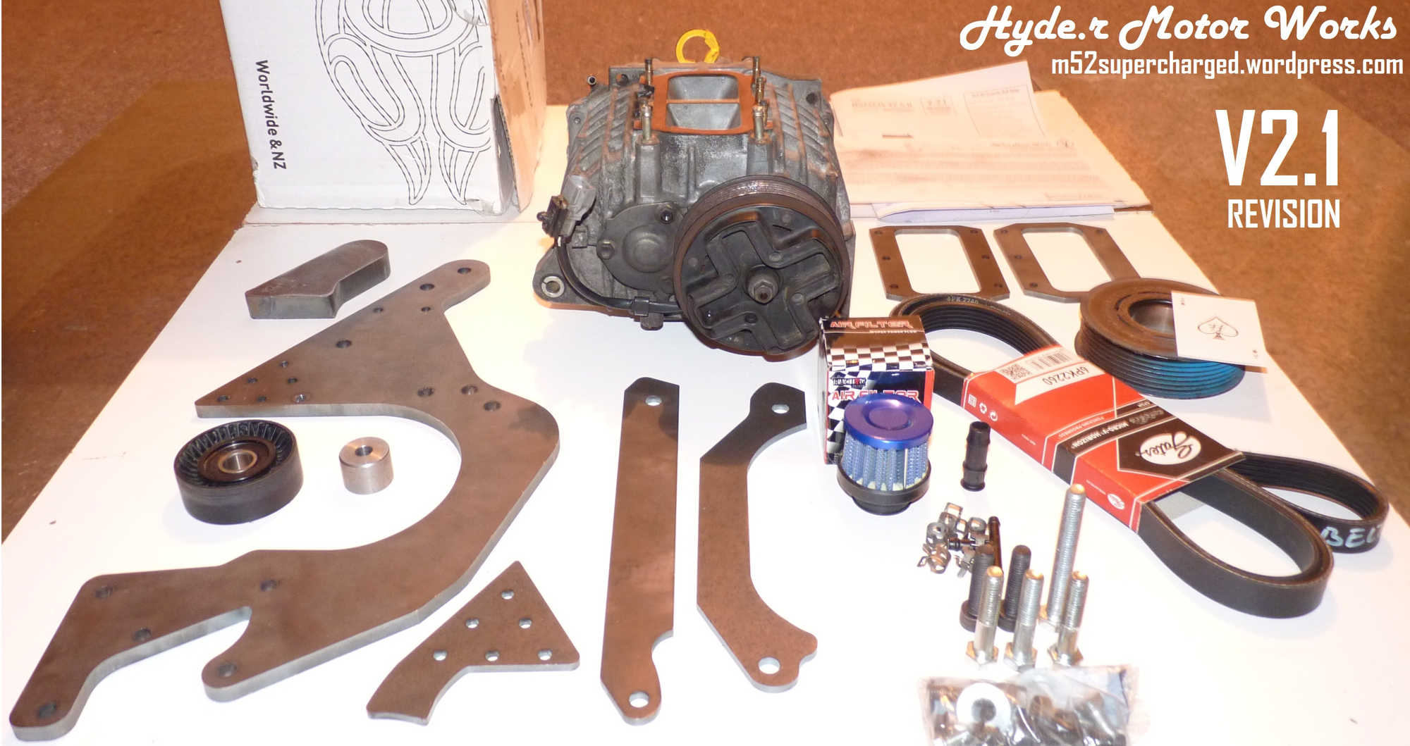 Hyde Motor Works The Original Roots Supercharger Project