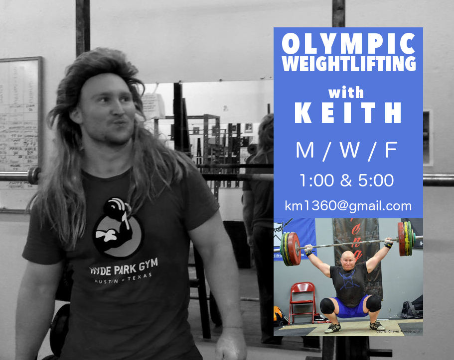 keith minikus olympic classes