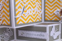 Yellow Gray Baby Shower close up - Copy