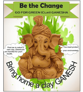GANESH IDOL-eco-friendly