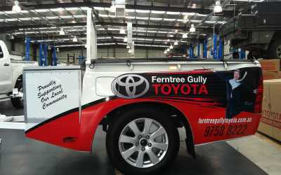 Ferntree Gully Toyota Signs