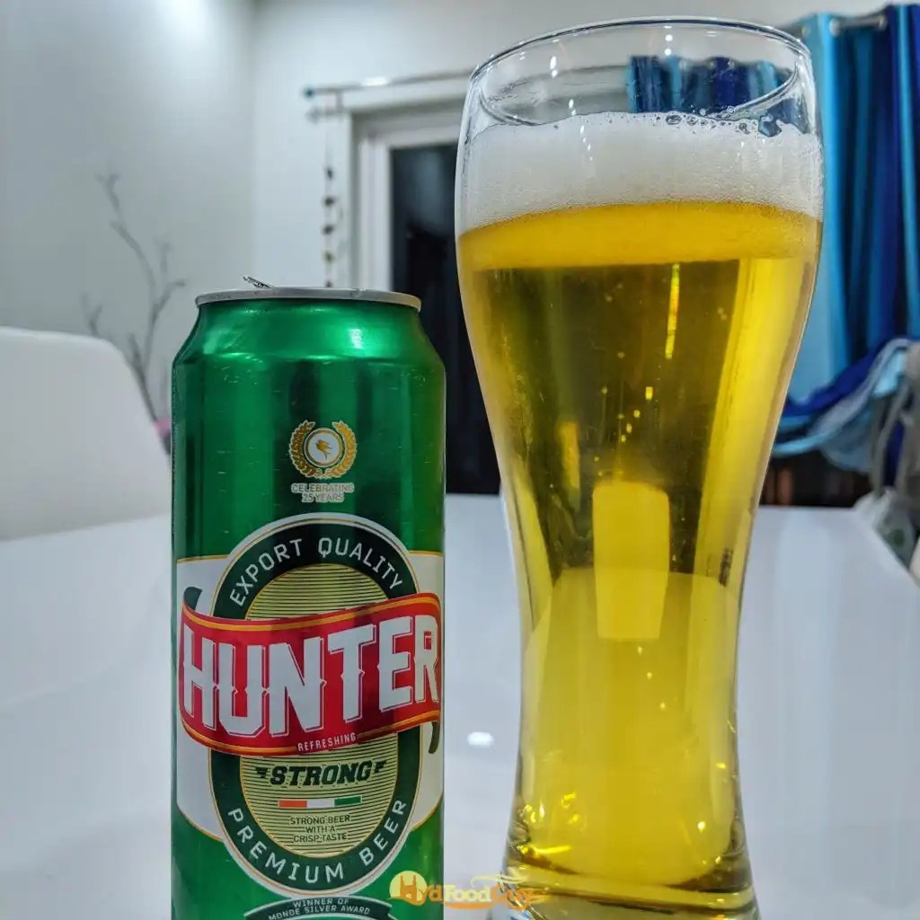 Hunter Strong Beer - Can