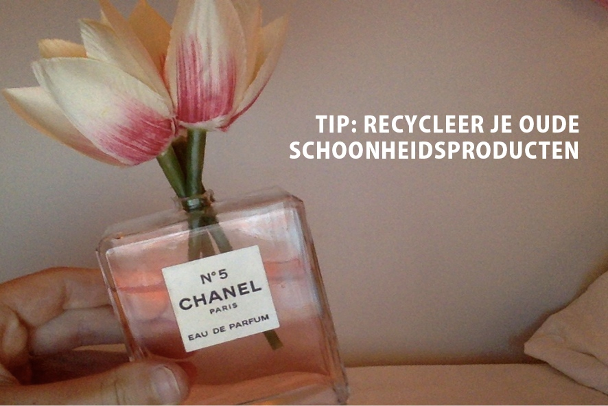 Earth Day: recycleer je schoonheidsproducten