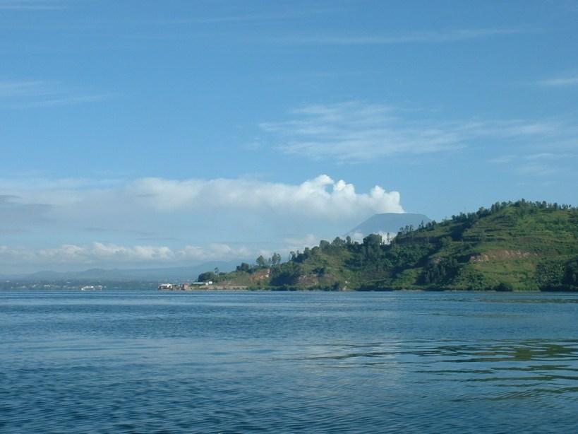 View of Lake Kivu from Cap Rubone