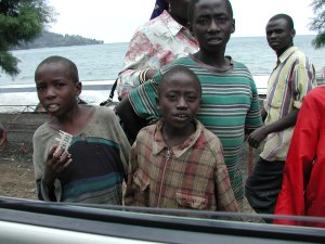 Children Living Near Lake Kivu