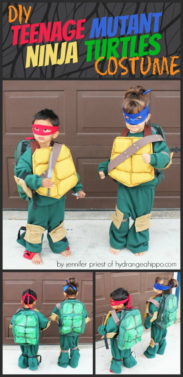 DIY Teenage Mutant Ninja Turtles Costume by Jennifer Priest